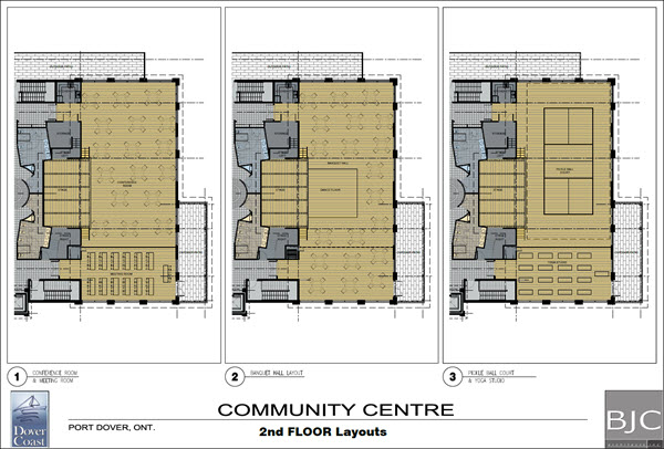 Dover Coast Residents Community Centre Second Floor Seating