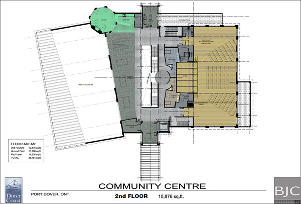 Dover Coast Residents Community Centre Second Floor